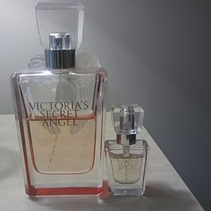 Victoria's secret angel large and small bottle